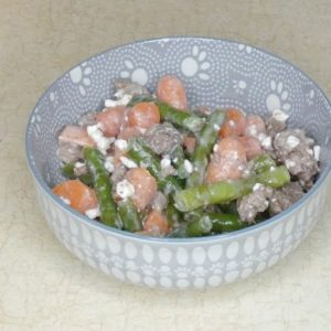 Beef and Vegetable Meal for Diabetic Dogs