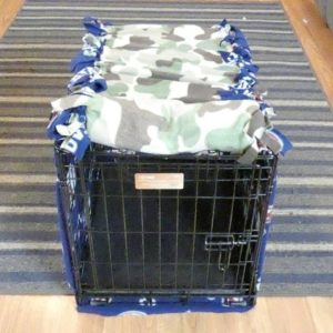 DIY Dog Crate Cover Without Sewing