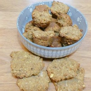 Recipe: Peanut and Honey Dog Treats