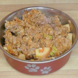 Meatloaf Recipe for Dogs with Fruits & Veggies