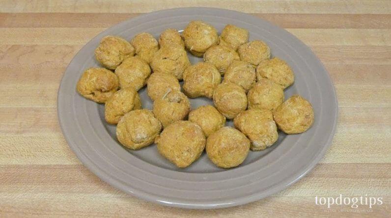 Recipe: Pumpkin Rosemary Dog Treats